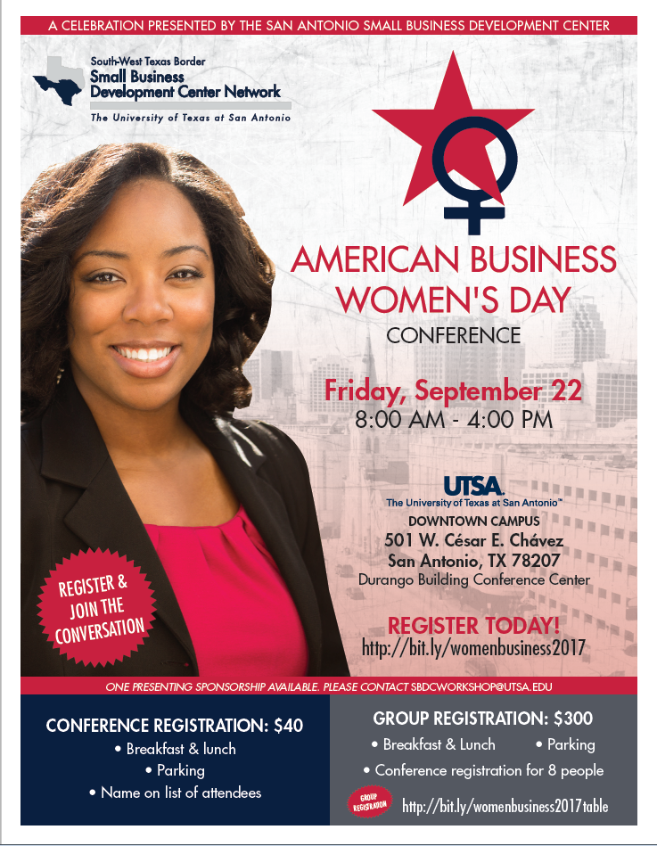 UTSA to host inaugural celebration of American Business Women's Day