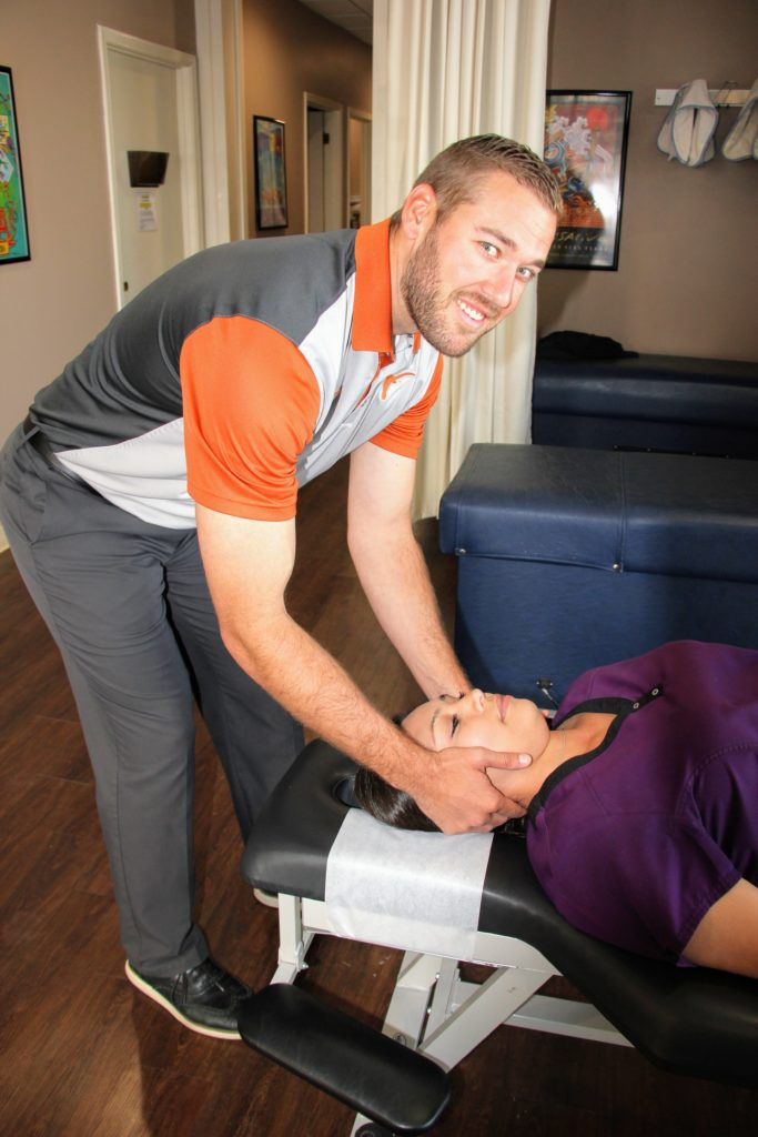 Dr. Matthew James, owner of San Antonio Elite Chiropractic, LLC