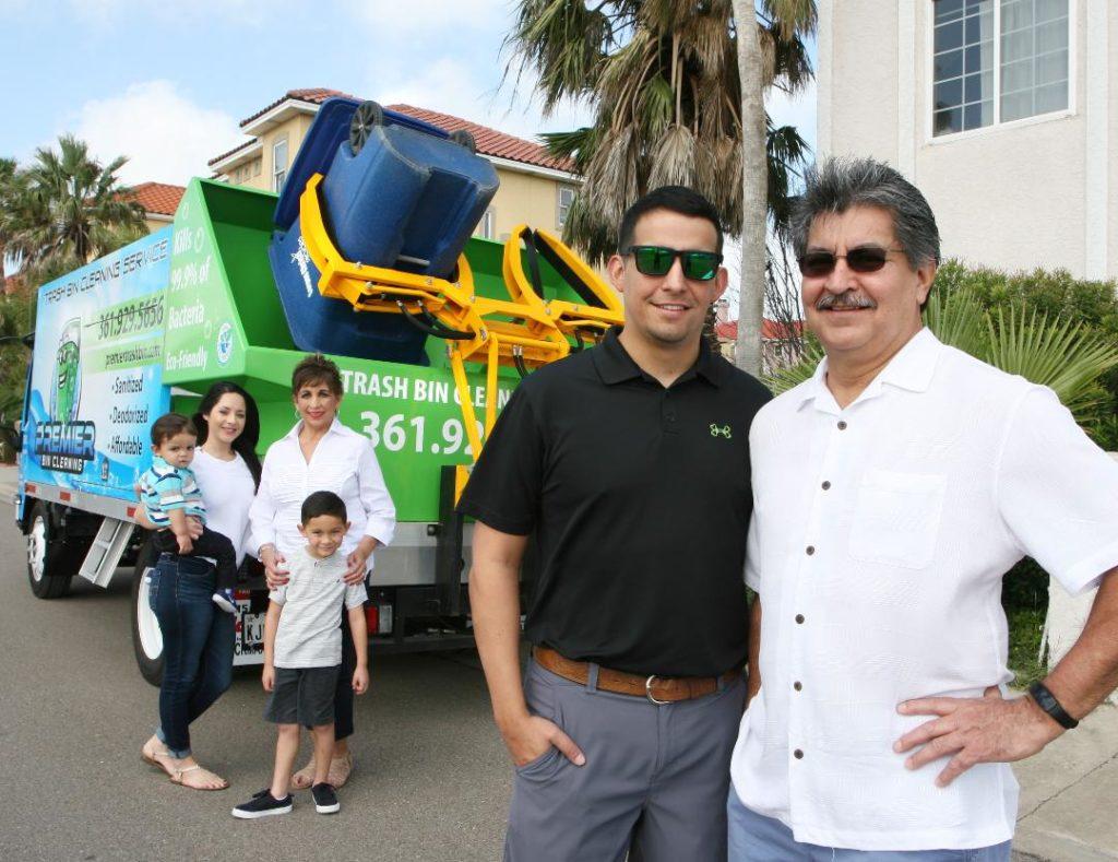Mauricio Ramirez, owner and operator of Premier Bin Cleaning, LLC