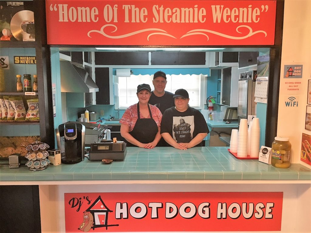 Meet Deborah Herrera, owner of DJ's Hot Dog House.