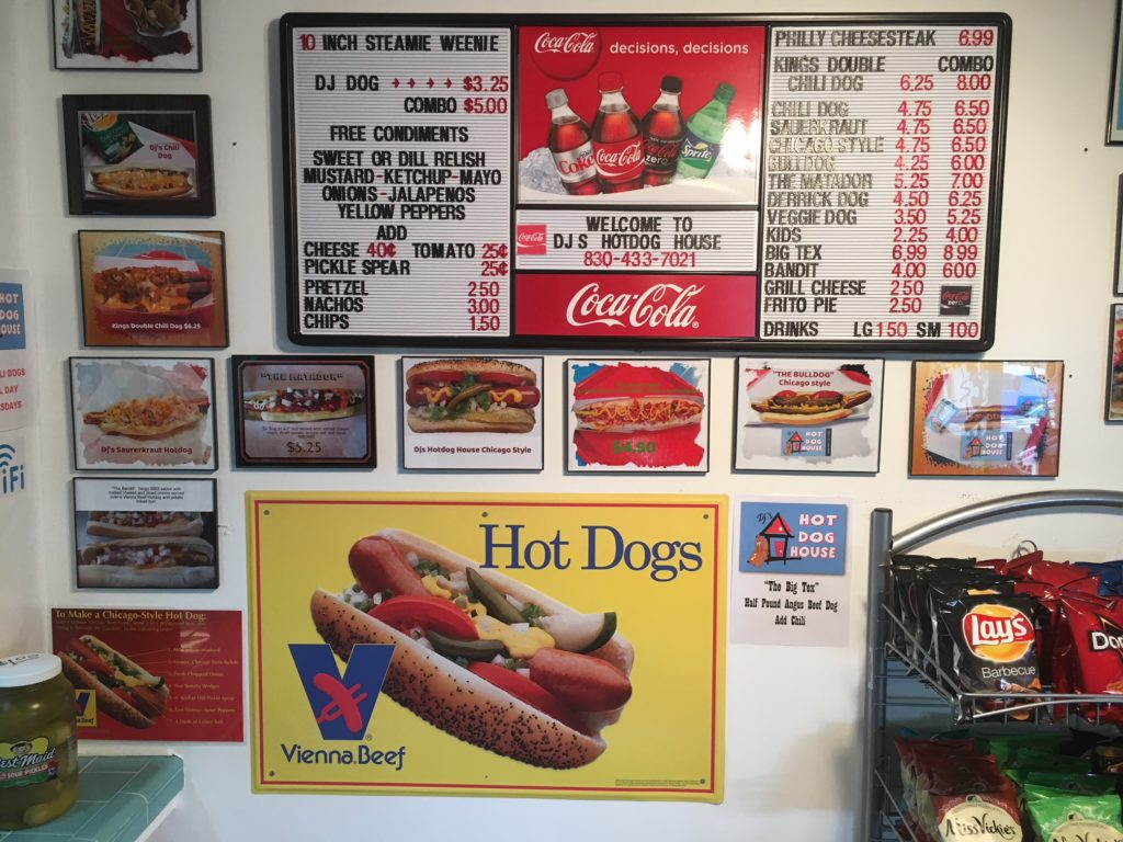 DJ's Hot Dog House, Seguin, TX