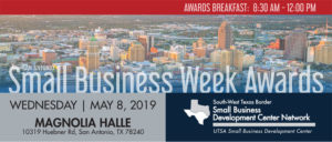 UTSA SBDC and Small Business Administration Host National Small Business Week Awards Breakfast