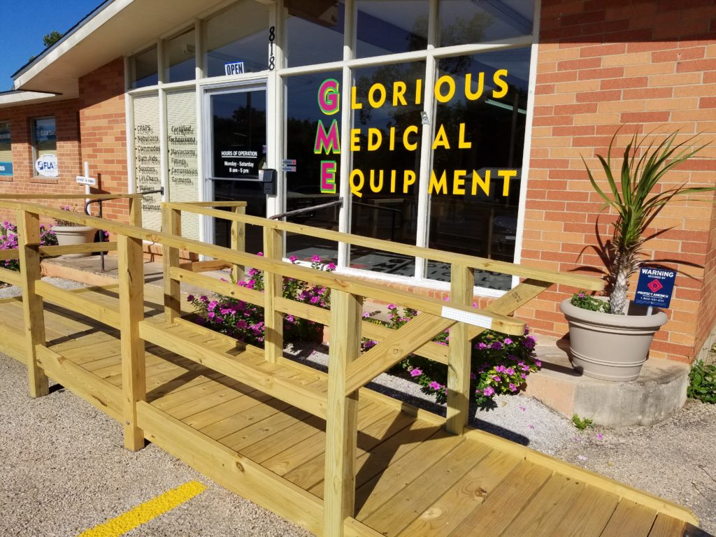 Glorious Medical Equipment, LLC, located in Fredericksburg, Texas.