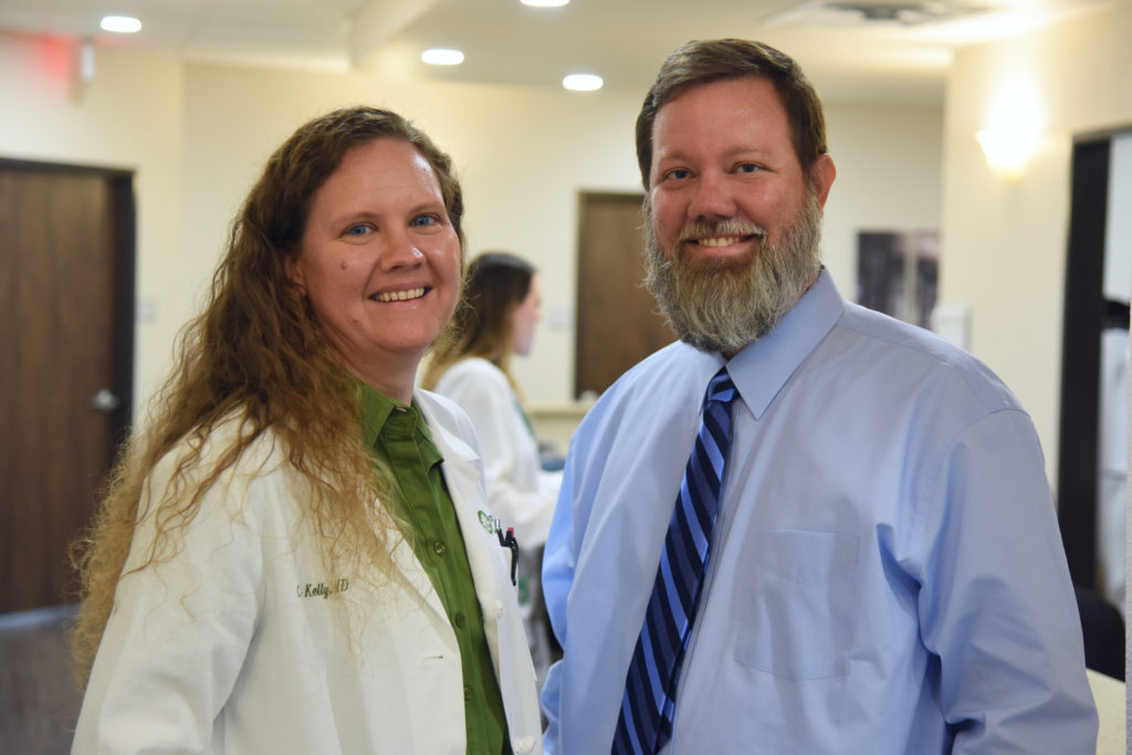 Meet Dr. Cecily Kelly and her husband, Austin Kelly, of Kelly Family Clinic
