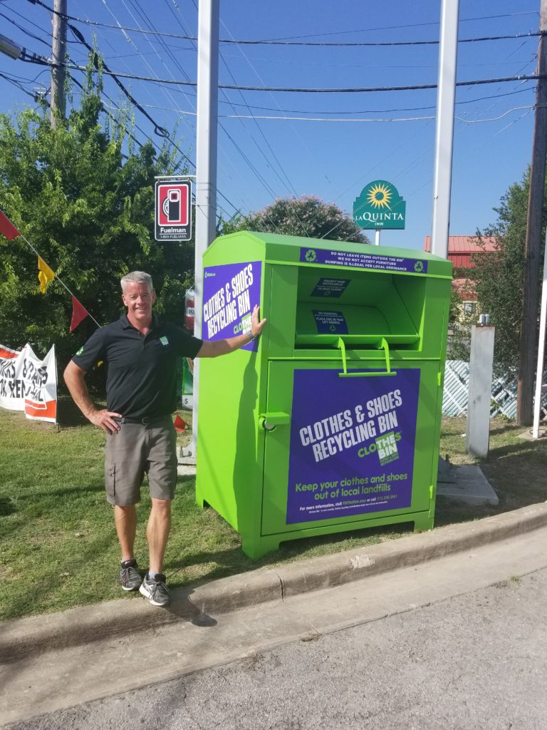 Meet Tom Lansdell, owner of Lansdell Recycling, Inc.