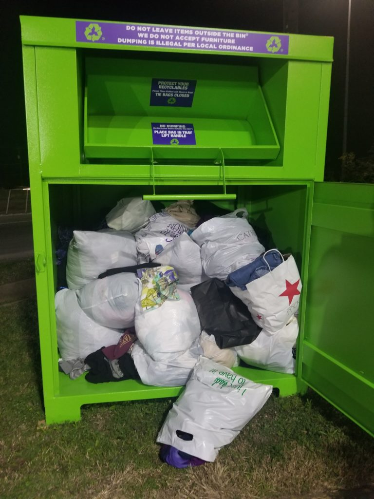 Recycling Bin of Lansdell Recycling, Inc