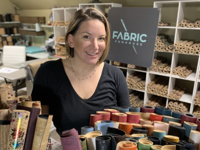 Meet Talia Hendry, owner of Fabric Funhouse