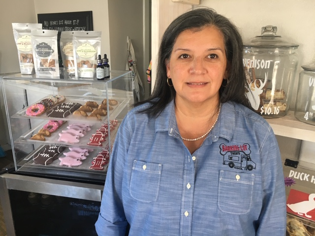 Pam Hankins, Barking Lot Treats owner
